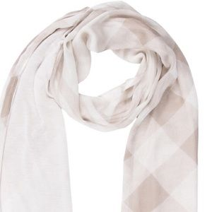 Burberry Accessories - Burberry Sheer Panel Scarf