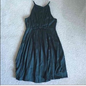 Green cocktail dress (large)