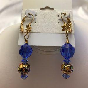 Swarovski/Murano Earrings