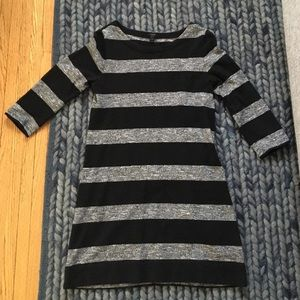 J.crew striped mini dress