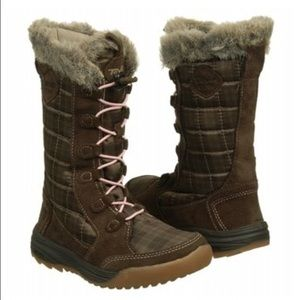 Teva Other - Teva Lenawee Waterproof Brown Winter Boots 10 Girl