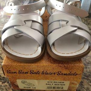 Silver Salt Water Sandals