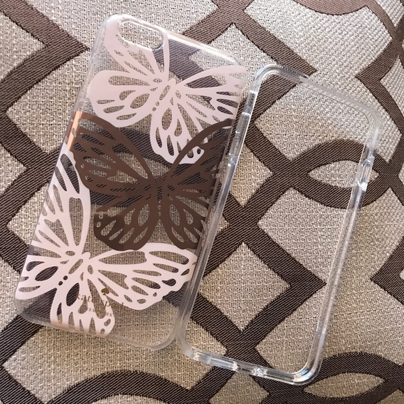reputable site ddc35 2b3f7 Kate Spade iPhone 6/6S Plus BUTTERFLY Case NWT