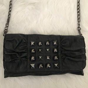 Olivia + Joy Handbags - Black faux leather handbag