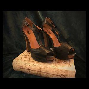  Charlotte Russe wooden heels