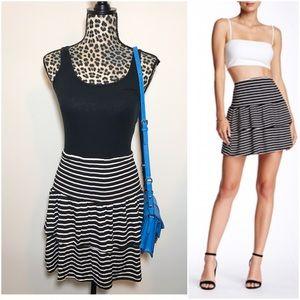 Nordstrom Dresses & Skirts - ✨HP✨NEW Socialite mini stripe ruffle skirt