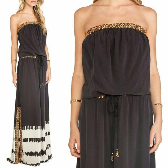 22e55c08c9a Gypsy 05 Dresses   Skirts - Gypsy 05 Cairo Silk Tube Maxi Dress