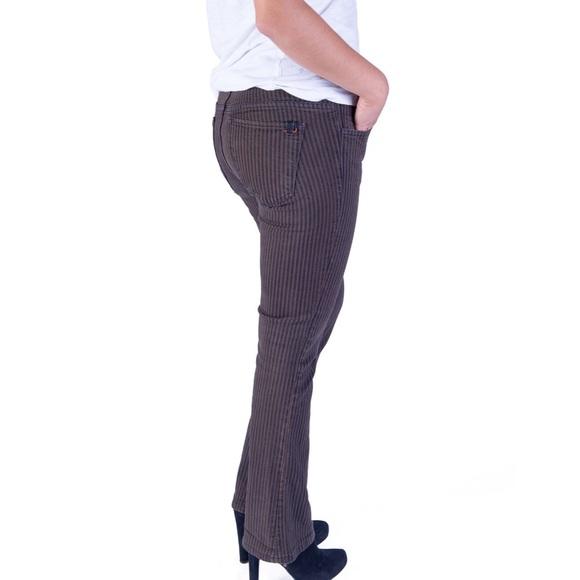 Joe's Jeans Jeans - NEW Black/Brown Striped Jeans