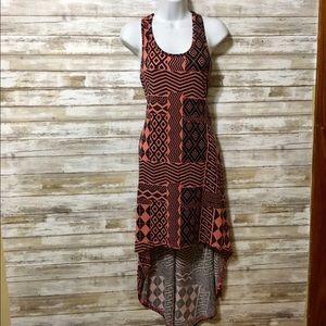 Boutique 9 Dresses & Skirts - Aztec Print High Low Dress
