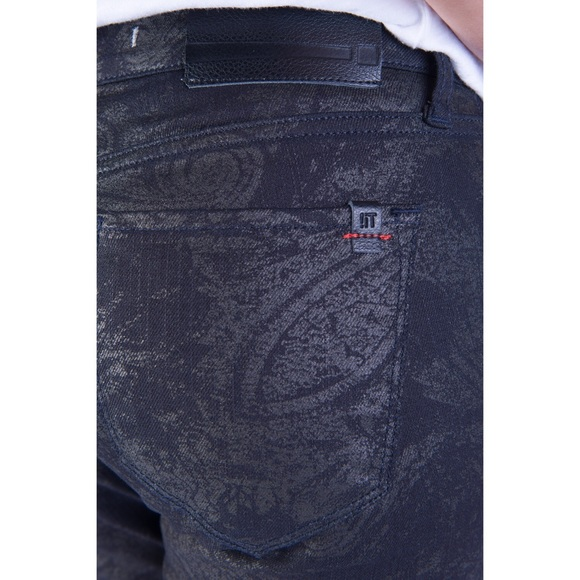 !iT Collective Jeans - Cool Printed Black Jeans (NEW)