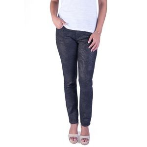 Black Orchid Denim - Ultra skinny printed sparkly jeans