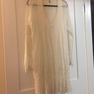 Elan Dresses & Skirts - ELAN sz L boho chic dress