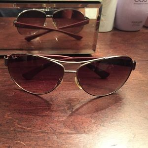 Ray-Ban Aviators with case