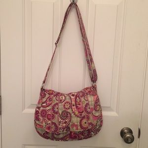 "Vera Bradley ""Saddle Up"" cross body bag (paisley)"