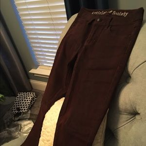 Wine colored Articles of Society jeans- NWOT