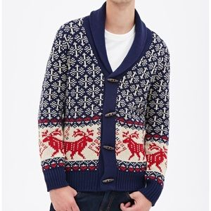 Forever 21 Other - Holiday reindeer Forever 21 cardigan sweater