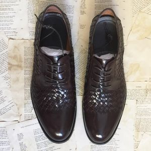 Zanzara Other - Men's Zanzara Beethoven Woven Leather Oxford