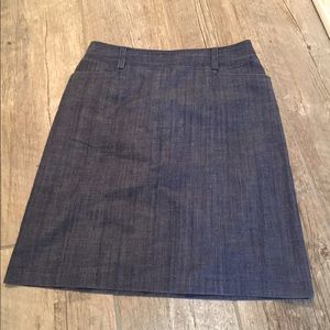 J. Crew stretch denim skirt