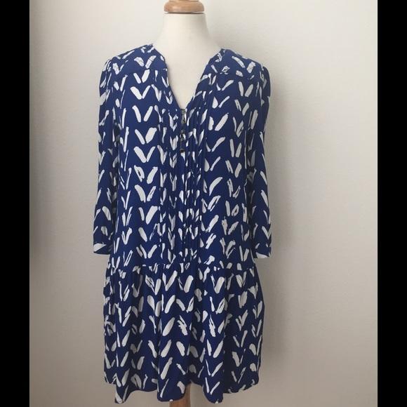 4f030cd5bfcdb Anthropologie Dresses & Skirts - MAEVE Drop Waist Caravane TUNIC DRESS 3/4  Sleeve