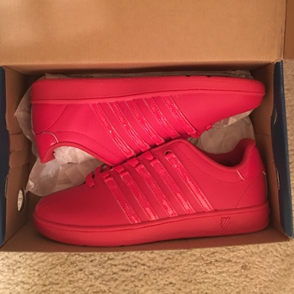 K-Swiss Shoes   All Red Kswiss   Poshmark