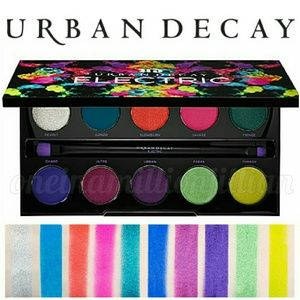 Urban Decay Other - Limited Ed UD Electric Pressed Pigment Palette