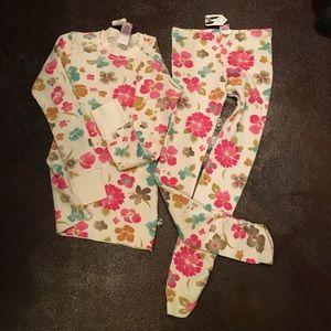 Charlie Rocket Other - Charlie Rocket Girls floral leggings & LS top, 8
