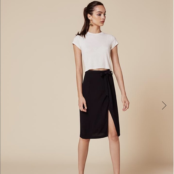 5553ce056 Reformation wrap skirt. M_585715d4bf6df5a51a004d3b