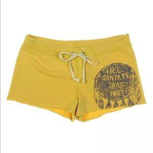 Denim & Supply Ralph Lauren Pants - Ralph Lauren Yellow cotton shorts size Small