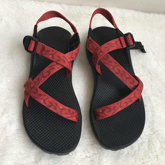 Unique Chaco Mitchell Sandals  Leather For Women In Beet Red
