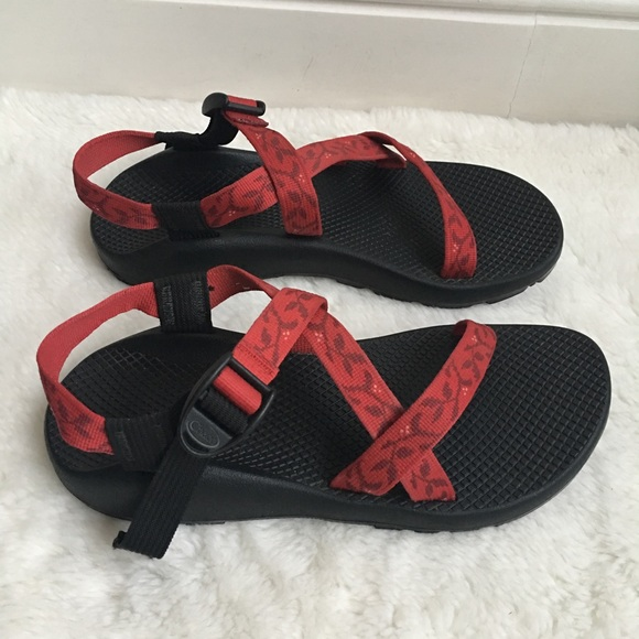 Simple Womens Chaco Z2 Unaweep Sport Sandals RED