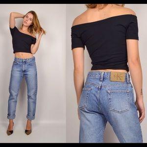"""Calvin Klein Jeans Denim - Vintage Calvin Klein CK High Waist """"Mom Jeans"""""""