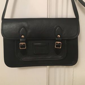 """Cambridge Satchel Handbags - Cambridge Satchel Inspired 11"""" Cross-body Bag"""