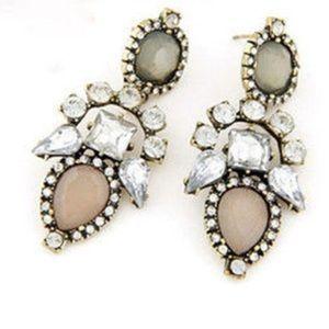 Jewelry - Glam Crystal Earrings