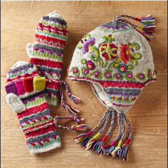 2901430b904 ... earflap hat - hand knit. M 58572c996d64bcb5cb009ebc