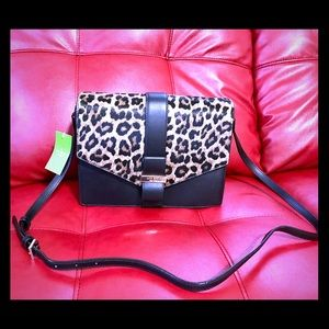 Host PickKate Spade Leopard haircalf crossbody