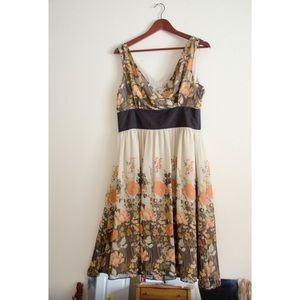 Chadwicks Dresses & Skirts - CHADWICKS Floral Spring Dress Size 10