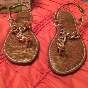 04de5a1ad887b3 Sam Edelman Shoes - Sam Edelman Grella Copper Boa Sandal