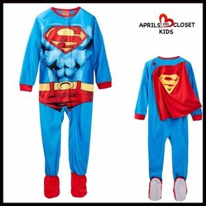 Komar Kids Other - SUPERMAN COSTUME PAJAMA SLEEPER