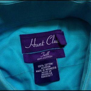 Vintage Other - Men's Vintage HUNT CLUB TWILL Button Up Shirt