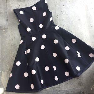 kate spade Dresses - Kate Spade Spotlight V Neck Polka Dot Dress