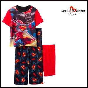 AME Sleepwear Other - ❗️1-HOUR SALE❗️BATMAN VS. SUPERMAN PAJAMA SET Boys