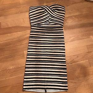Pleasure Doing Business Dresses & Skirts - Pleasure doing business striped mini dress