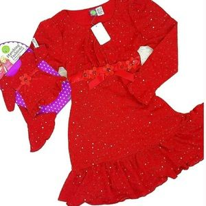 Dollie & Me Other - 🚨New 20 Plus DOLLIE ME Match Red Dress 18""