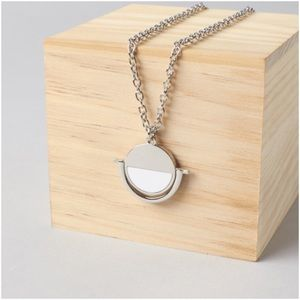 "bauble bar Jewelry - Bauble Bar ""Snowball Pendant"" silver necklace"
