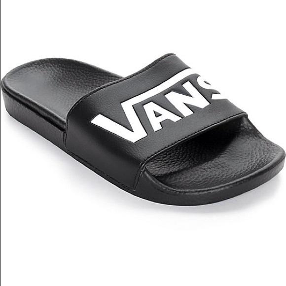 8467845f63e5 Womens  Vans Slide Ons Size 6
