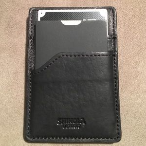 Shinola Other - Magnetic Money Clip Card Case