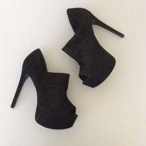Schutz Damaris Black Mayale Heels 9B
