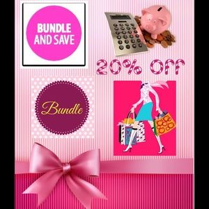 Get 20% on 2 or more items when you bundle. Thanks