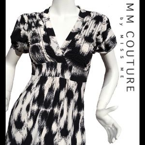 MM Couture Tops - Pretty MM COUTURE Black & White Top by Miss Me