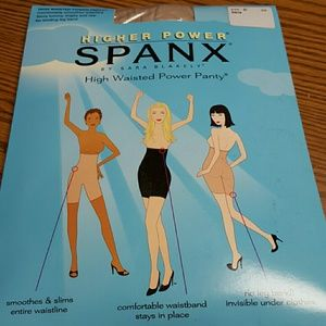 Spanx higher power panty size A black